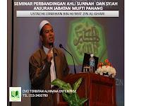 DVD Seminar Perbandingan Ahli Sunnah Dan Syiah.
