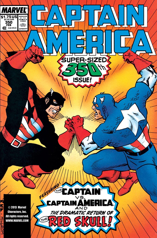 Captain America (1968) Issue #350 #282 - English 1
