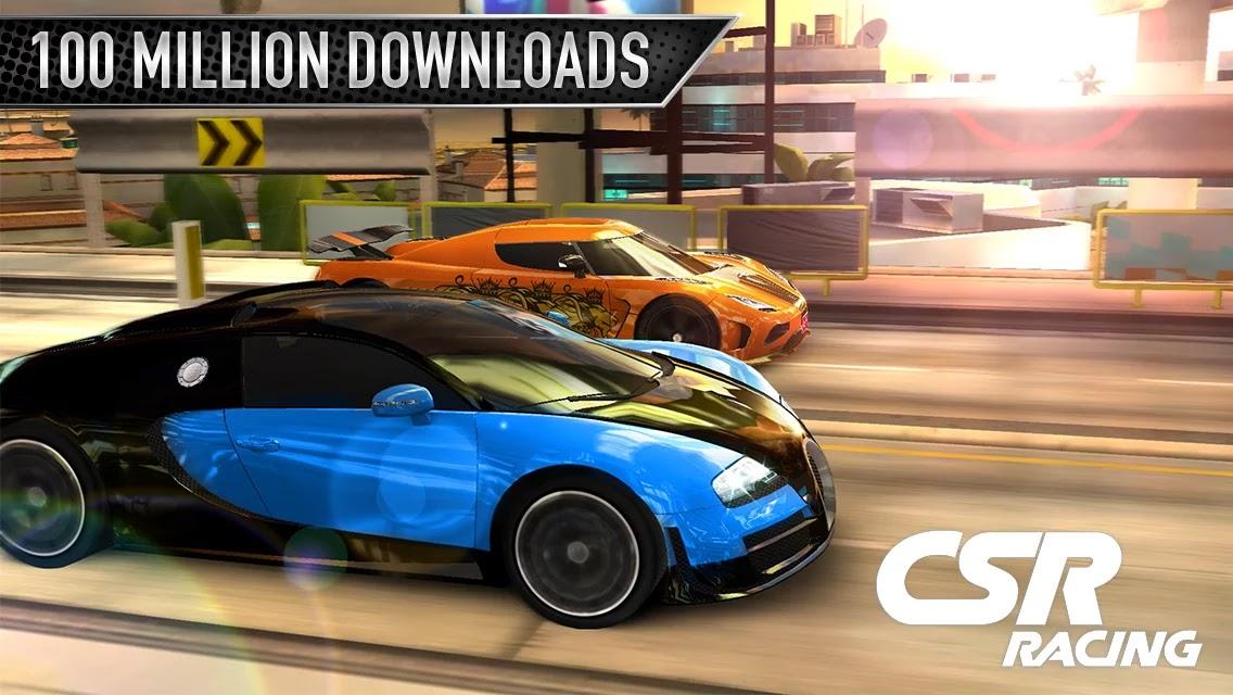 CSR Racing Apk+ Gaming Data