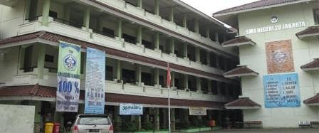 Markas Besar SMA Negeri 20 Jakarta