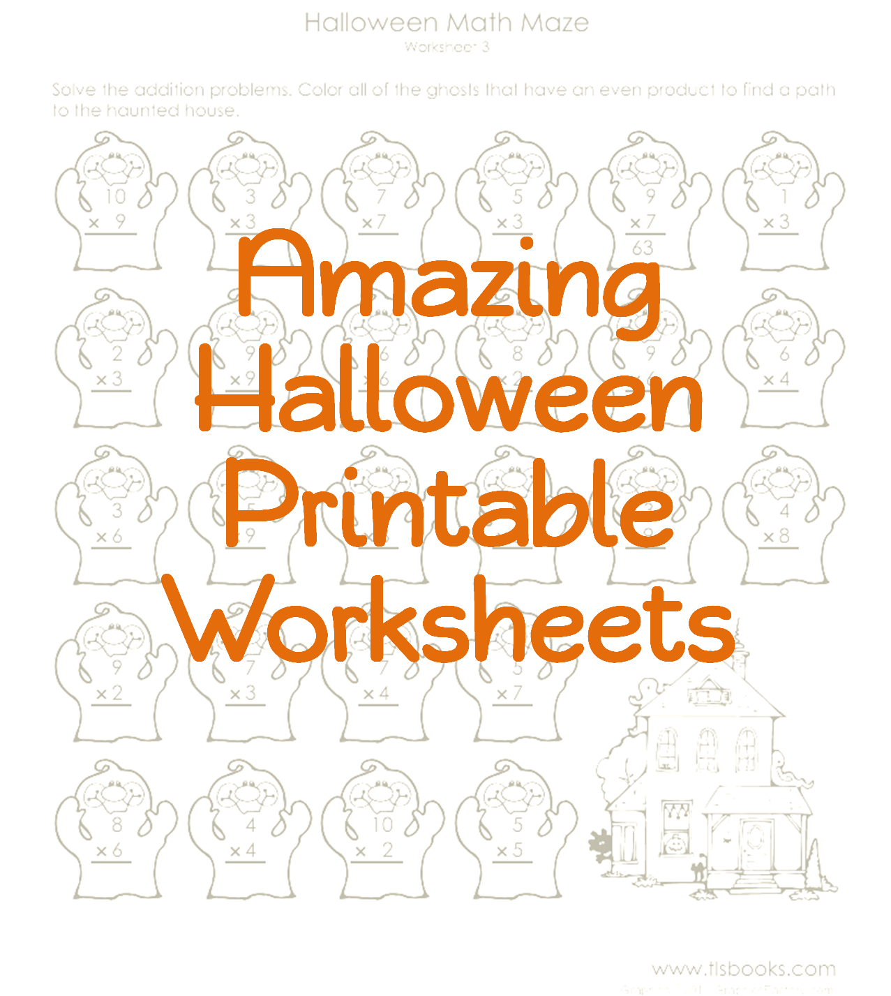 Busy Kids Learning Packets For OffTrack YearRound School My – Fun Halloween Math Worksheets