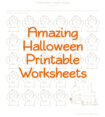 Halloween Printable Worksheets, Utah Deal Diva