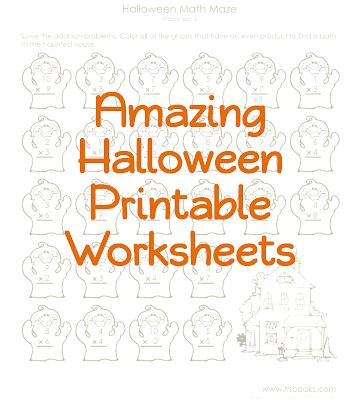Halloween Printable Worksheets, Utah Deal Diva