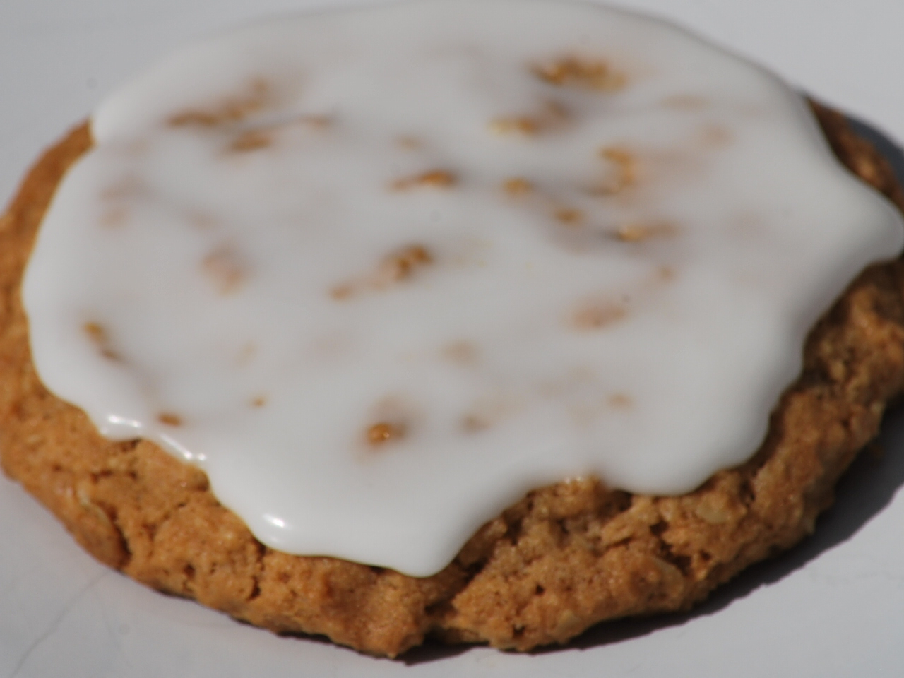 My story in recipes: Old Fashioned Iced Oatmeal Cookies