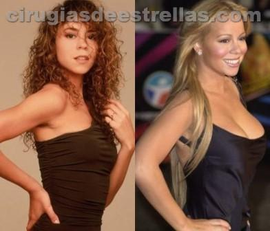 mariah carey antes y despues
