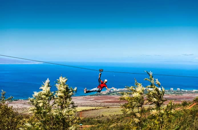 Kaanapali Maui Hawaii Zipline Tickets