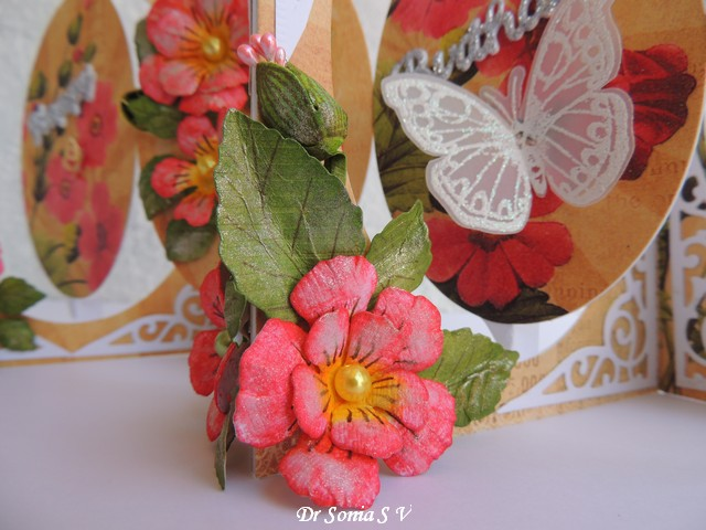 Pop up accordion card project tutorials for Handmade paper flowers tutorial