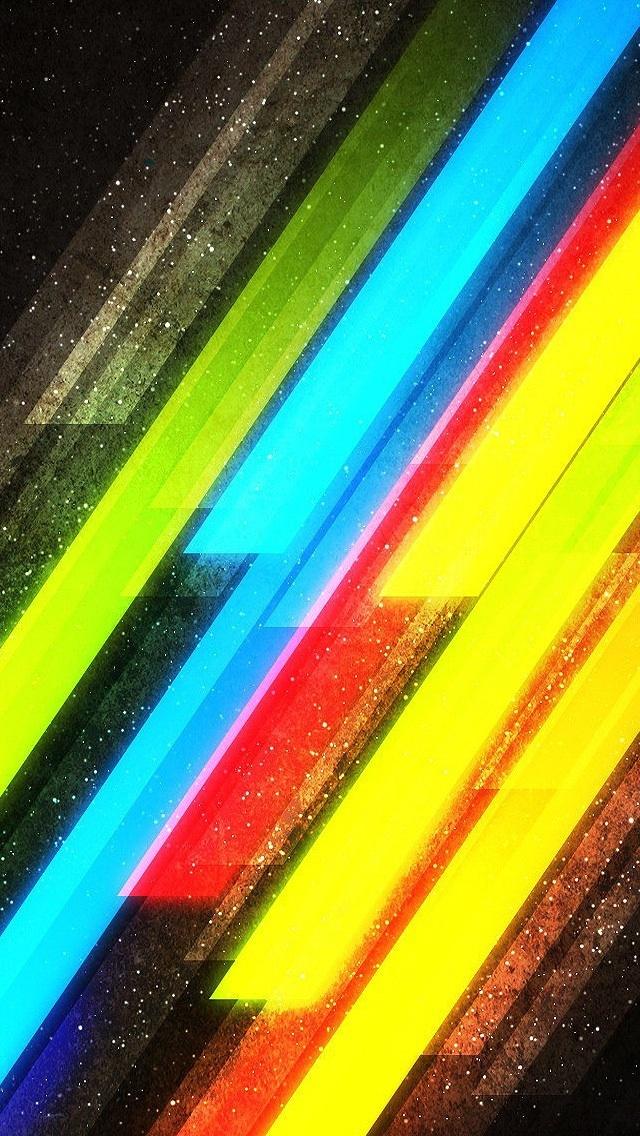 colorful stripes iphone 5 wallpaper pocket walls hd