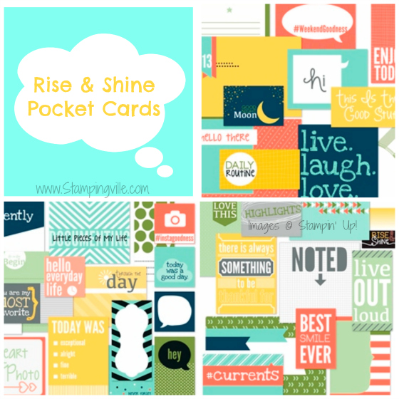 Rise & Shine Pocket Cards by Stampin' Up!