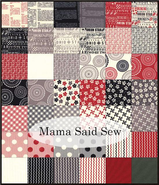Mama Said Sew fabrics