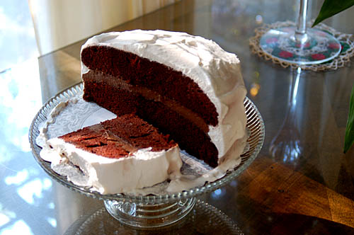 Mad About Maida: New Orleans Chocolate Layer Cake