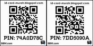 PIN BBM : 74a0d78c & 7dd5090a