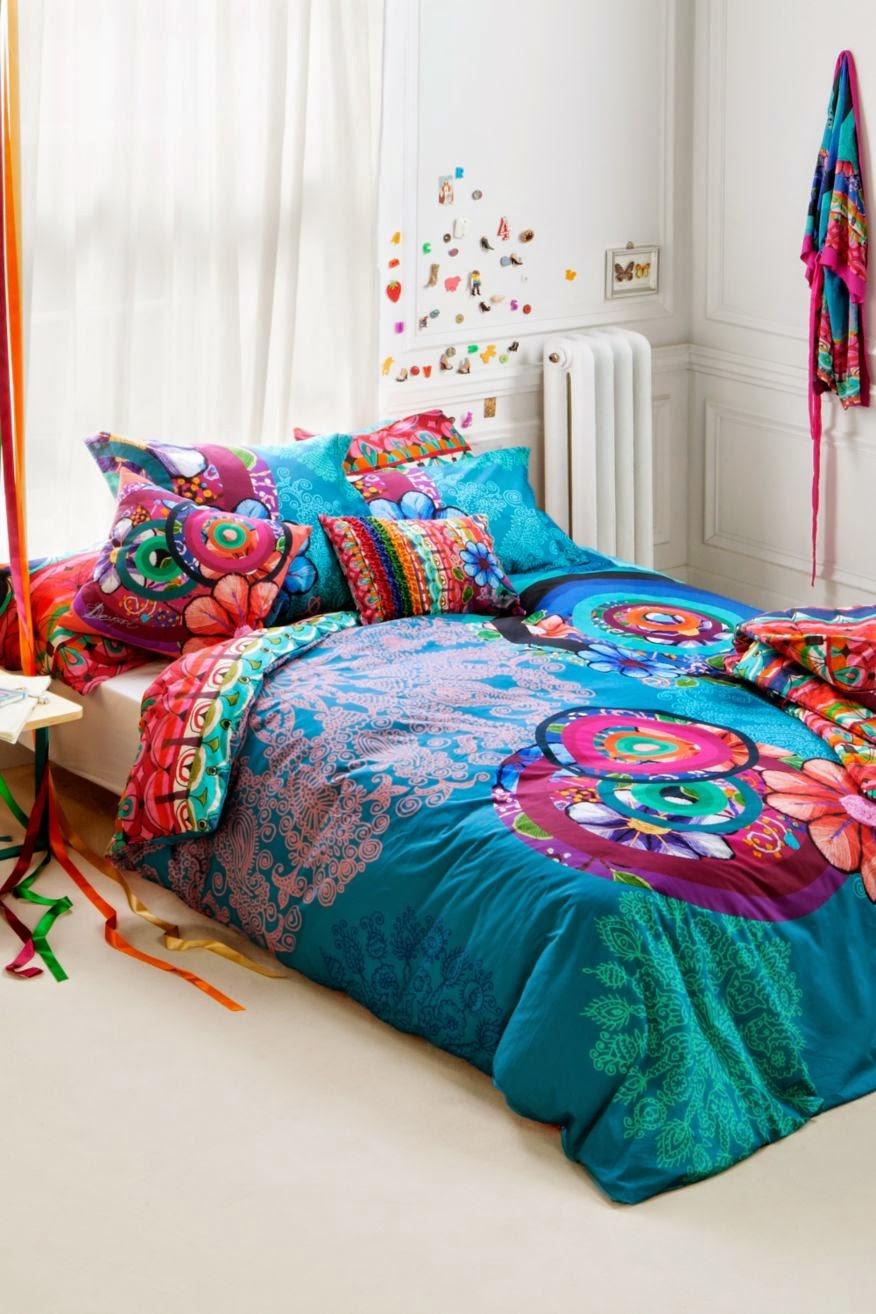 Handflower desigual funda nordica reversible desigual - Ropa de cama zaragoza ...