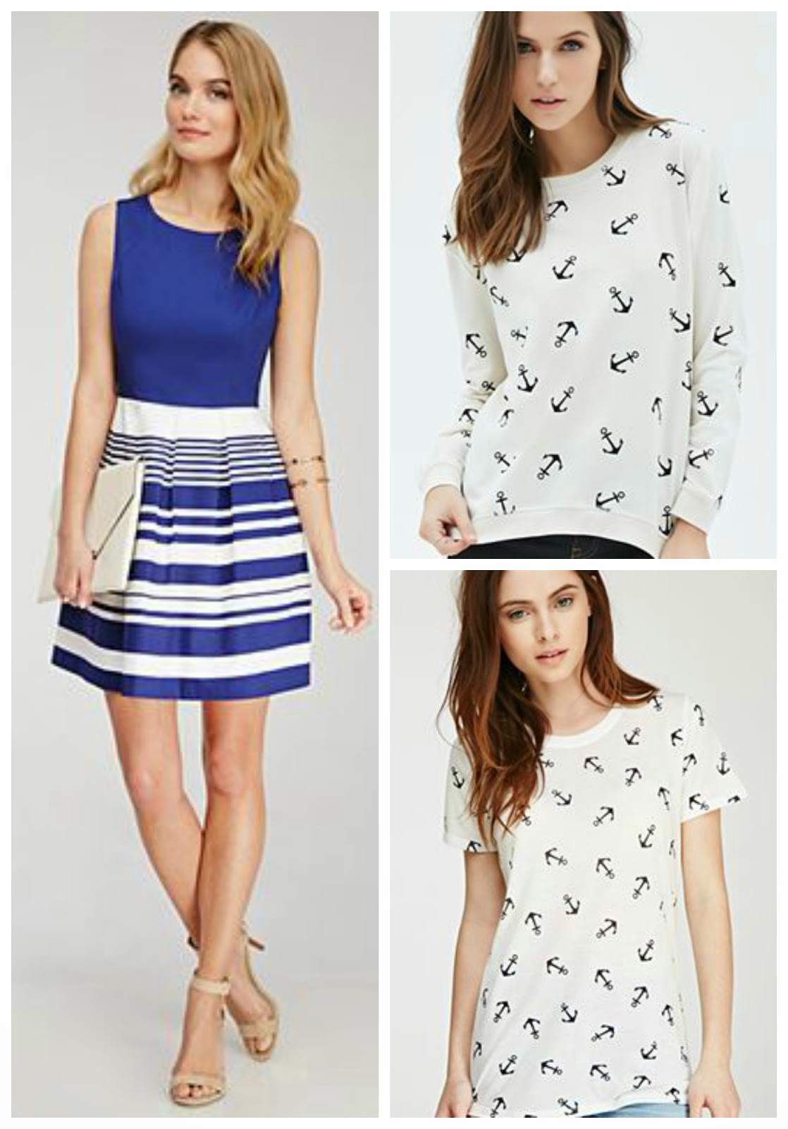 Nautical by Nature | Forever21 Nautical Spring Wardrobe for under $75