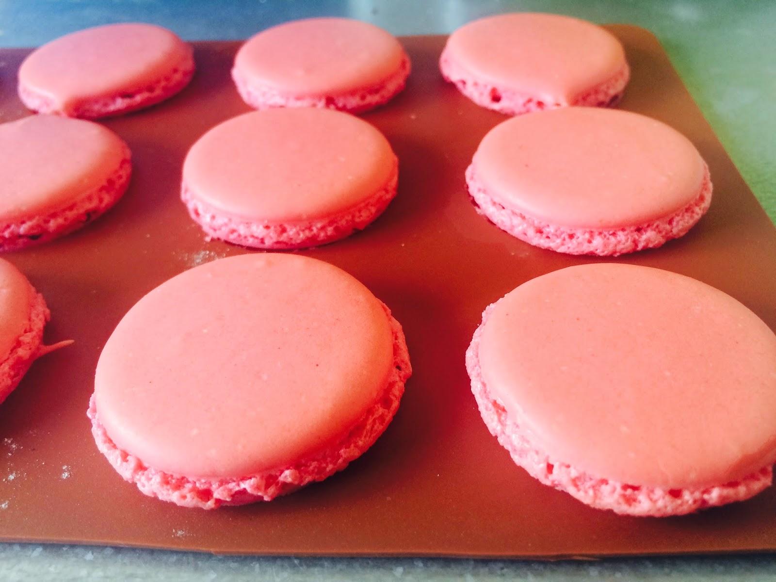 Cafe Chic & Choc - blog o Francji - kuchnia francuska - przepis na makaroniki