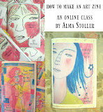 online class: how to make an art zine