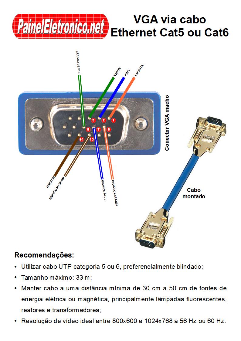 Как удлинить vga кабель своими руками