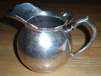 ULTRA RARE ANTIQUE STERLING SILVER PLATA 900 Telko Pitcher