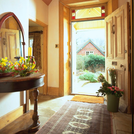 traditional hallways design ideas Period hallway