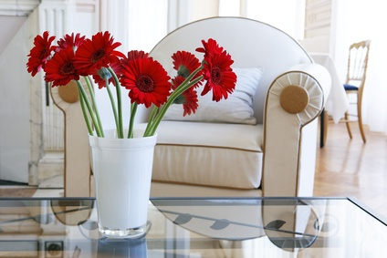 Decoraci n alternativa con flores artificiales f c decor - Decoracion plantas artificiales ...