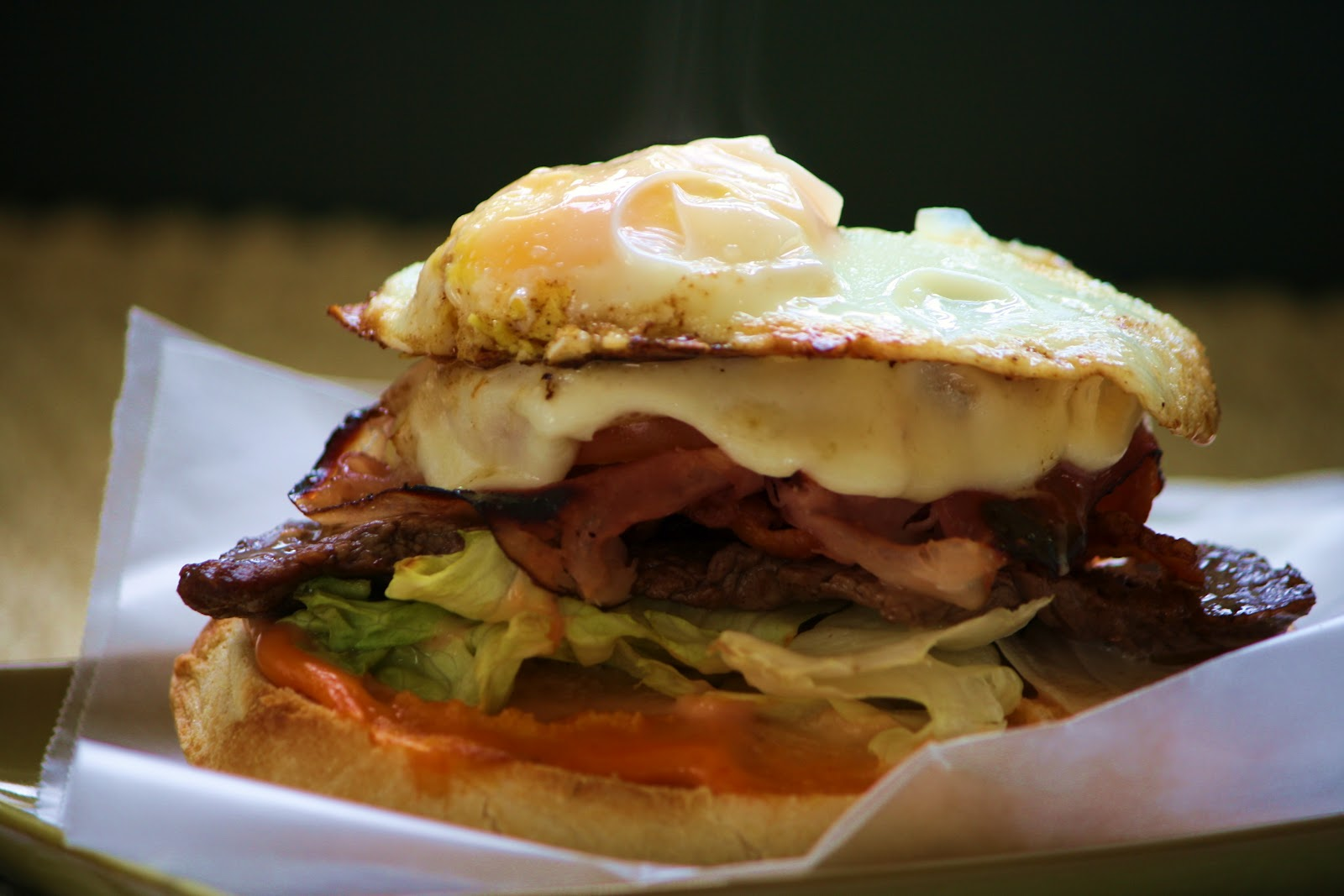 ... your World?: Day 189! Uruguay~Chivito Sandwich - Up, Next, Uzbekistan