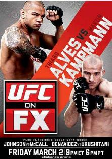 UFC on FX 2: Alves vs. Kampmann