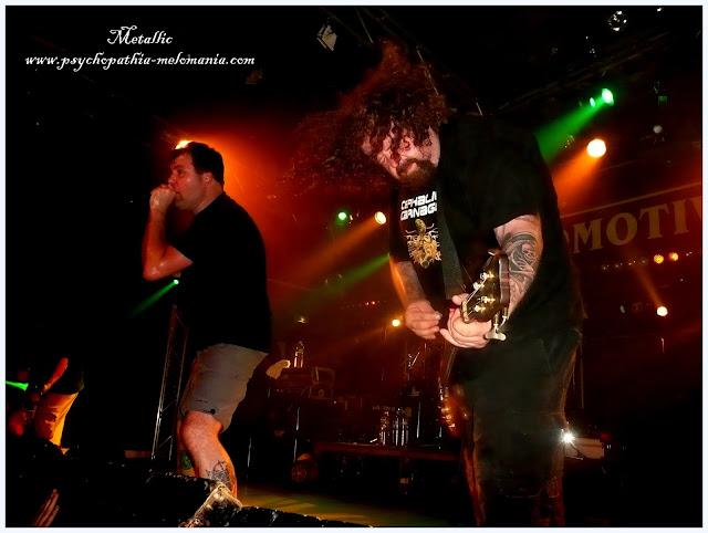 """Mitch Harris & Mark """"Barney"""" Greenway & Shane Embury (Napalm Death)"""