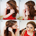 The Qucik Twisty Updo Hairstyle Tutorial Step By Step