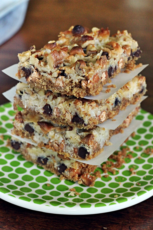 hello dolly bars (magic bars)