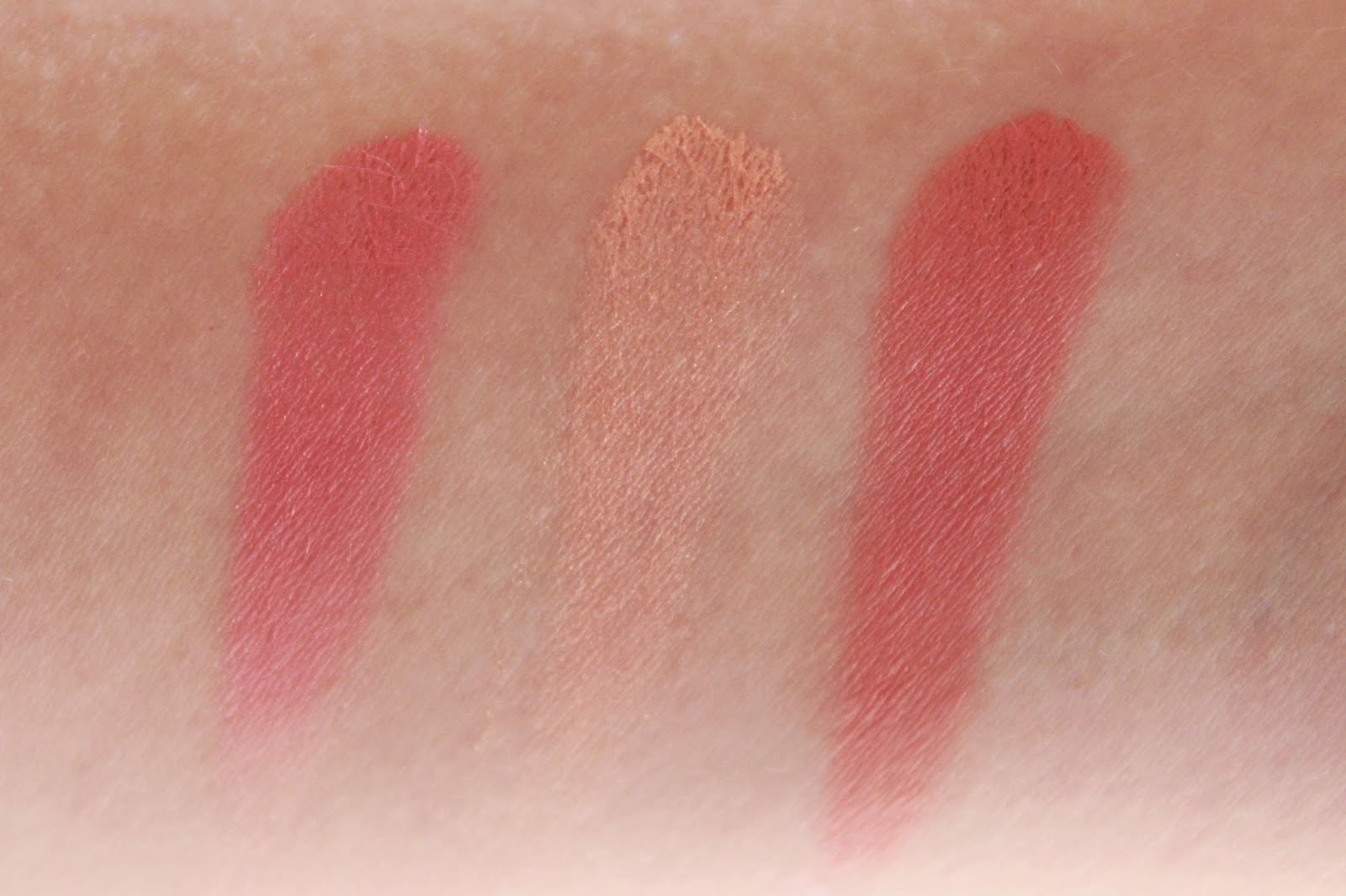 review ervaring sleek blush by 3 Californ.I.A swatches
