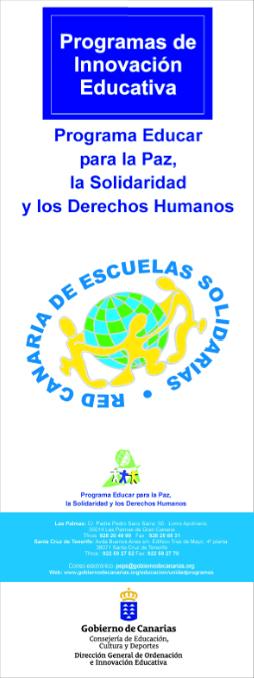 PROGRAMA EDUCAR PARA LA PAZ, LA SOLIDARIDAD Y LOS DERECHOS HUMANOS