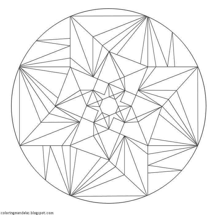 Coloring Mandalas 05 Peridot