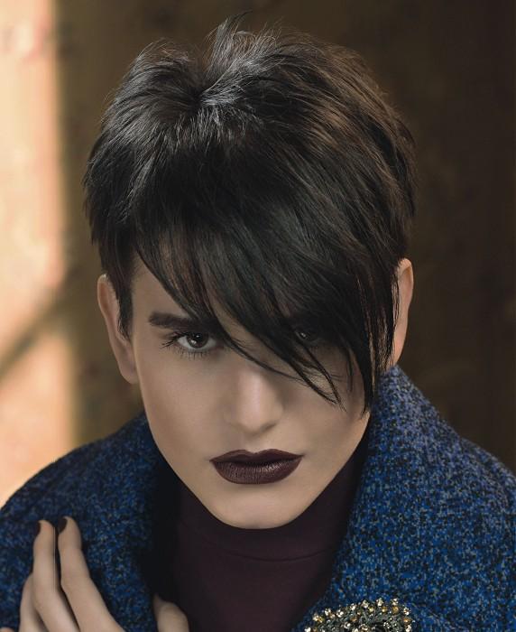 good cortes de pelo corto con flequillo asimtrico otoo invierno with cortes de pelo originales para mujer - Cortes De Pelo Originales