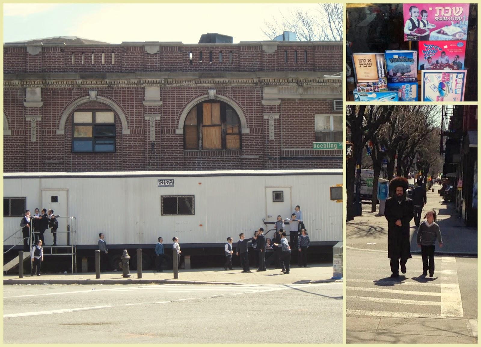 """""""niños judíos ultra ortodoxos Nueva York"""""""