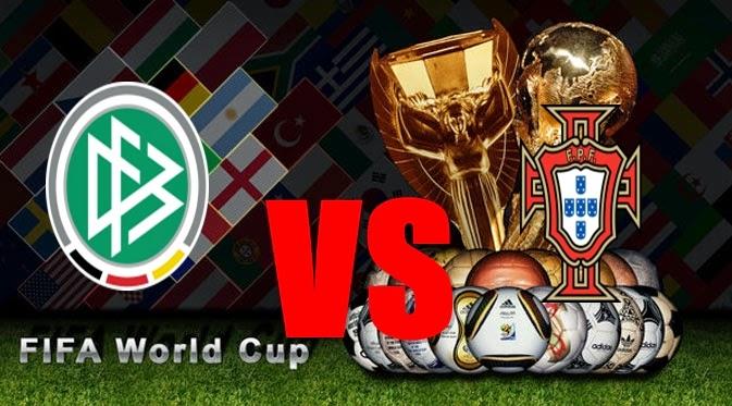Prediksi Skor PIALA DUNIA 2014 Terjitu Jerman vs Portugal jadwal 16 Juni 2014