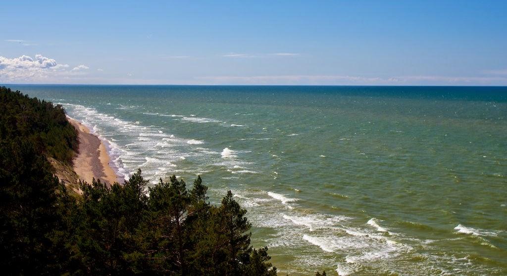 Балтийское море, Ужавский маяк