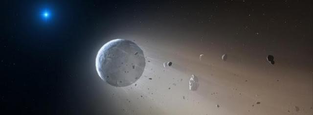O fim de um sistema planetário