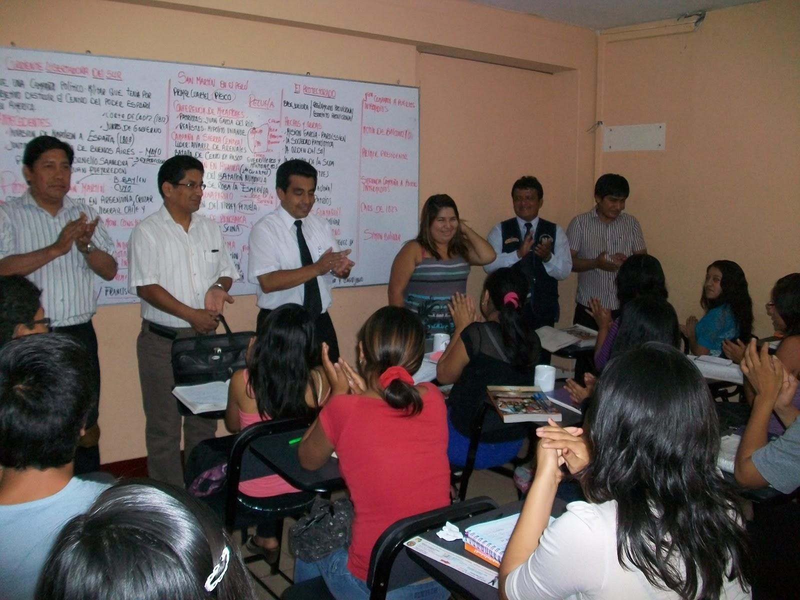 Limasurnoticias se completa la renovaci n total del for Mobiliario para estudiantes