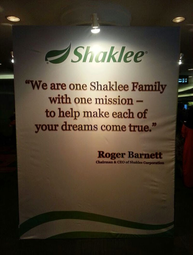 chairman & ceo of shaklee corporation