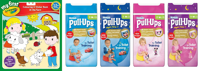 My First crayola, Huggies Pull Up, Crayola and Huggies Competition