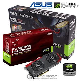 Harga VGA Card Komputer PC Merek Asus nvidia Geforce Terbaru