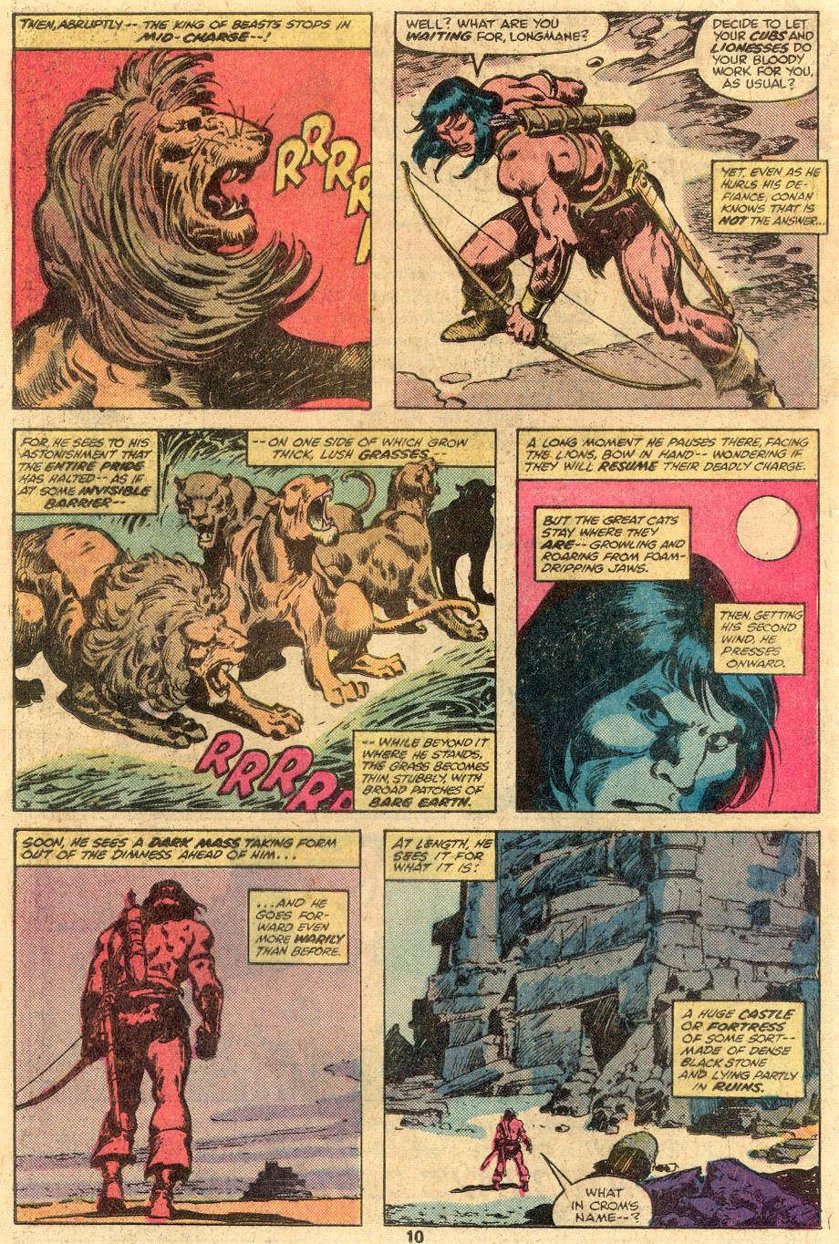 Conan the Barbarian (1970) Issue #105 #117 - English 8