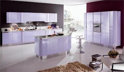 Кухонный гарнитур: модель Venus от фабрики Snaidero, дизайн Pininfarina Design.