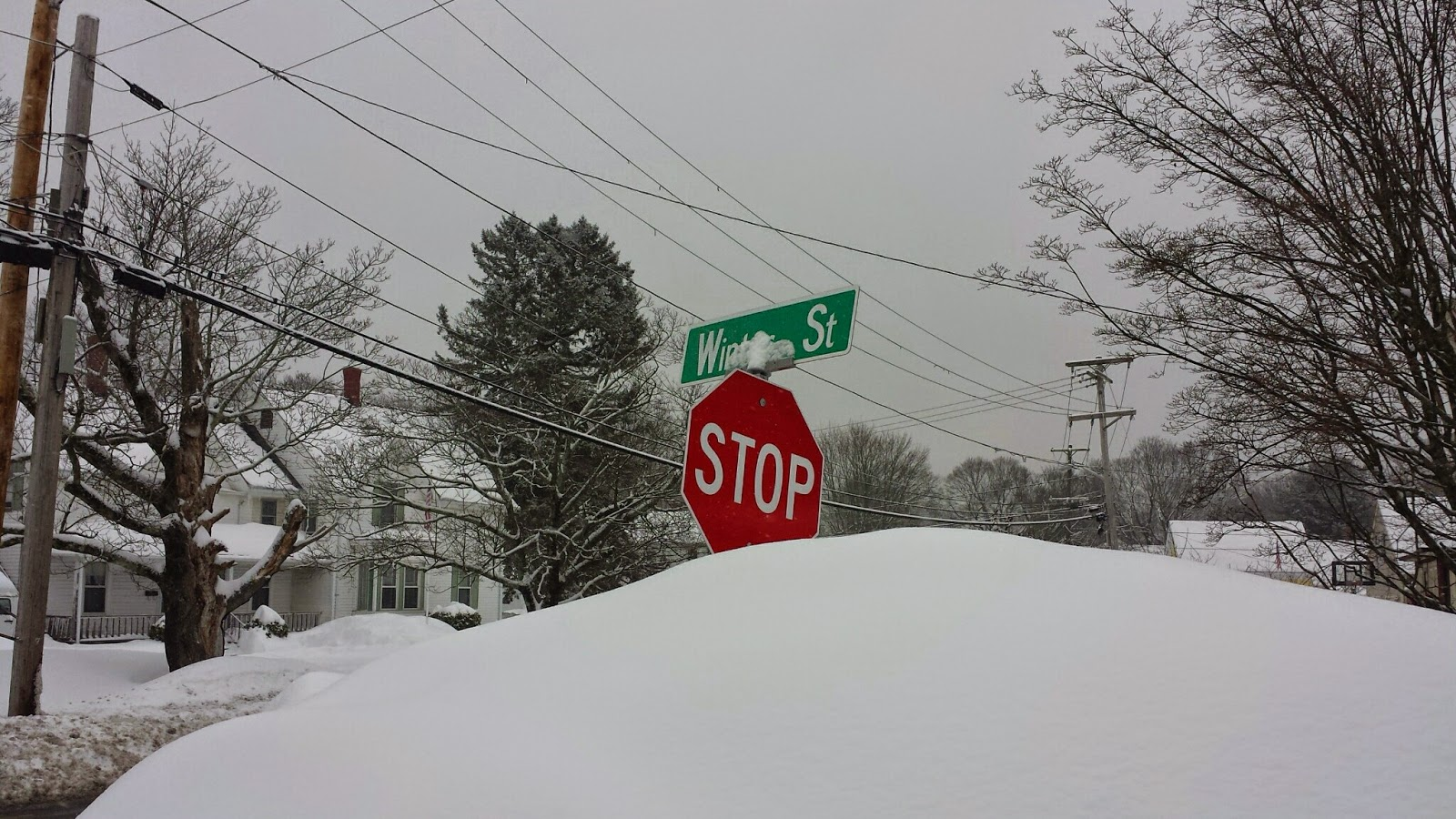 yes,a real street sign in Franklin, MA