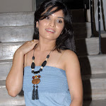 Nikitha Shetty at Facebook Movie Logo Launch Cool Pics