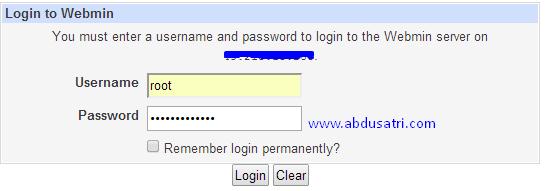 backup user SSH