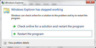 Cara Mengatasi Windows Explorer Has Stopped Working