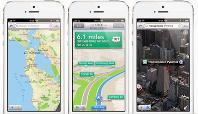 Google has lost significant mobile maps traffic to Apple since last year