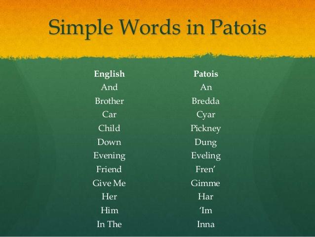 Learn to speak jamaican patois