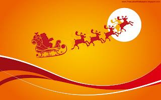 Free Download Santa Vector Wallpaper